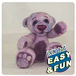 Bear Kit Needle felting for beginners