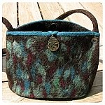 Needle Felting A Purse Kit